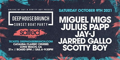Deep House Brunch Sunset Boat Party ft. Miguel Migs tickets