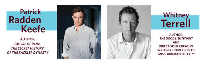 Writers for Readers 2021: An Evening With Patrick Radden Keefe image