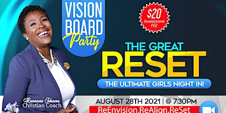 The Great ReSet Vision Board Party tickets
