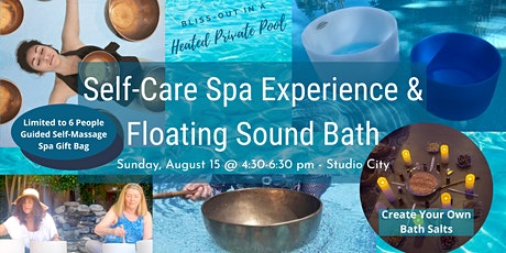 Self-Care Spa Experience and Floating Sound Bath tickets