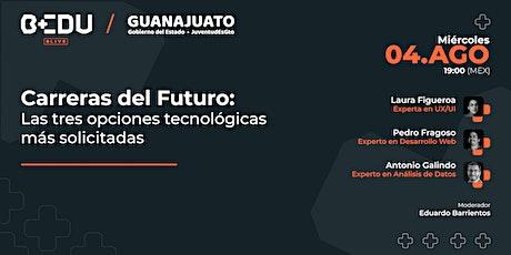 Carreras del futuro: Las 3 opciones tecnológicas más demandadas biglietti