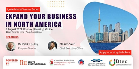 Expand your business in North America ( Info Session - Online) tickets