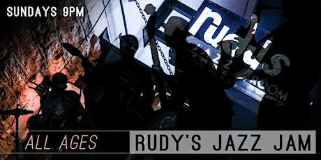 Rudy's Jazz Jam tickets