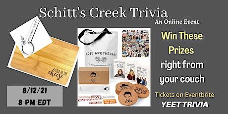 Schitt's Creek Online Trivia Night tickets