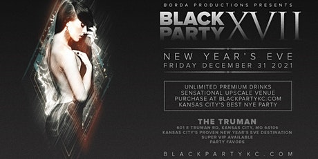 NYE 2022 Black Party tickets