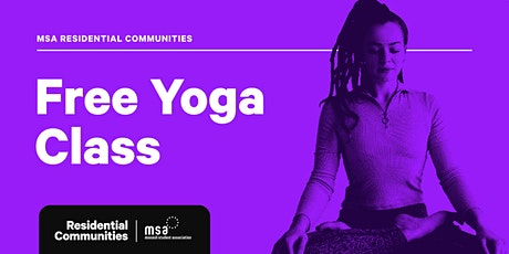 Free Yoga Classes – Semester Two tickets