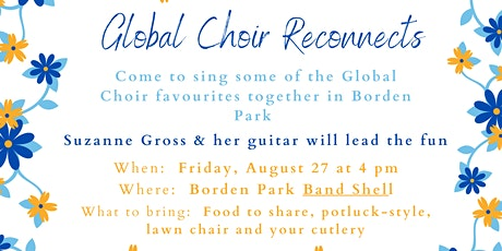 Global Choir and friends reconnect tickets