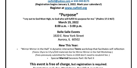 9th Annual All Church Retreat tickets