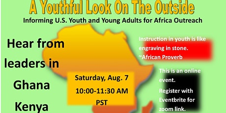 A Youthful Look On The Outside: Africa Outreach Info Session for Youth/YA tickets