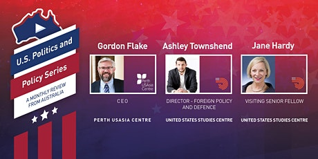US Politics and Policy Web Series - A monthly review from Australia tickets