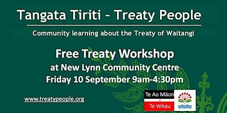 Tangata Tiriti Workshop - Treaty People tickets