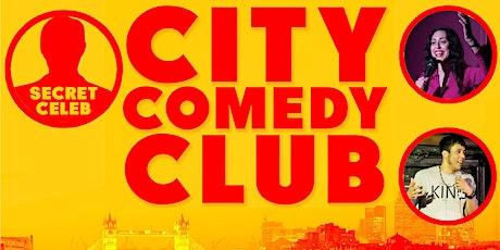 Secret Celeb at City Comedy Club tickets