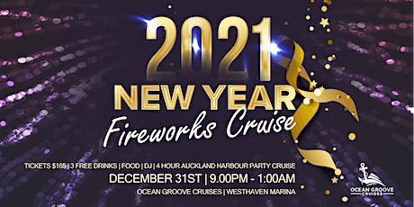 2021 New Years Eve Fireworks Cruise tickets