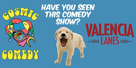 The Cosmic Comedy Show in Valencia Sept 25 tickets