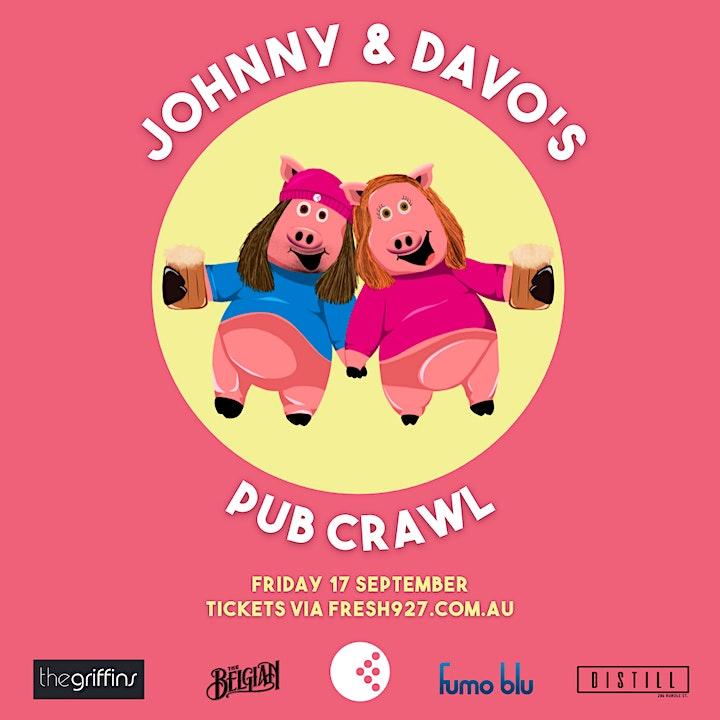 Johnny & Davo's Pub Crawl image
