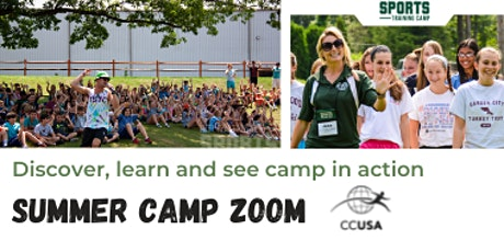 Zoom / live cross with International Sports Training camp . tickets