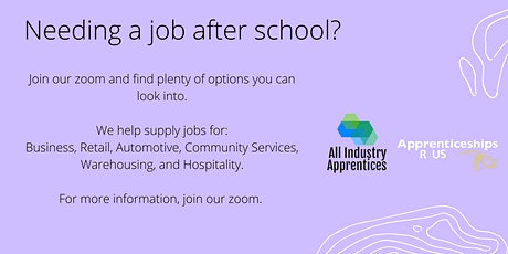 Apprenticeships and Traineeships Information Session tickets