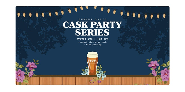 SYC Brewing Cask Beer night @ the Common - Thursday August 5th image