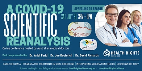 A COVID-19 Scientific Reanalysis - Part 1 [Online Conference] tickets