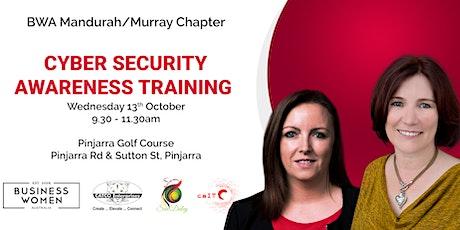 Mandurah/Murray, Business Women Australia: Cybersecurity Awareness Training tickets