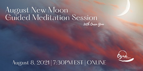 August New Moon Guided Meditation tickets