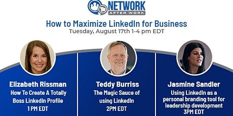 How to Maximize LinkedIn for  Business  Virtual Summit tickets