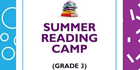 Virtual Summer Reading Comprehension Camp (Grade 3) tickets