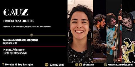 Marisol Sosa cuarteto entradas