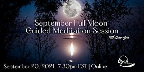 September Full Moon Guided Meditation tickets