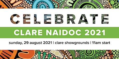 Clare NAIDOC 2021 tickets