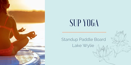 SUP Yoga on Lake Wylie tickets