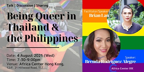 Being Queer in Thailand & the Philippines tickets