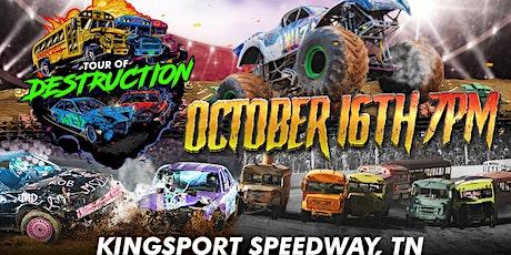 TOUR OF DESTRUCTION - KINGSPORT SPEEDWAY tickets