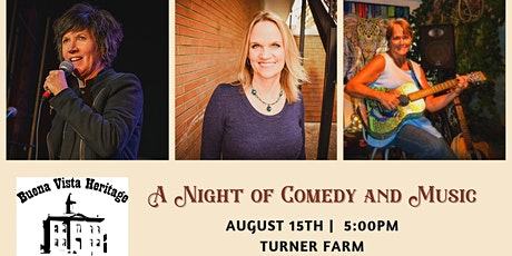 A Night of Comedy and Music tickets