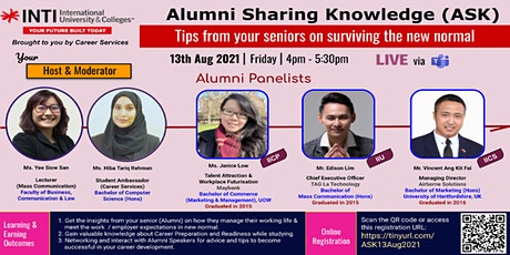 Alumni Sharing Knowledge (ASK), INTI International University & Colleges tickets