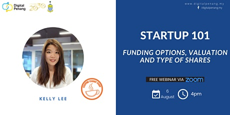 [STARTUP 101] Funding Options, Valuation, and Type of Shares tickets