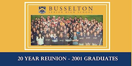 BSHS 2001 Graduates' 20 Year Reunion tickets