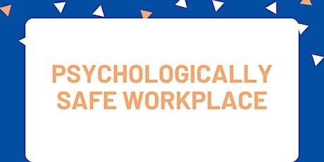 Be.Bendigo Mental Health & Wellbeing - Psychologically Safe Workplace. tickets