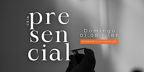 Culto presencial + ceia do Senhor - 01.08.21 | MPV Curitiba ingressos