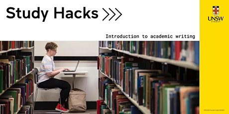 Study Hacks: Introduction to academic writing tickets