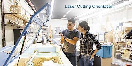 Laser Cutting Orientation tickets