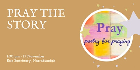 Pray the Story workshop tickets