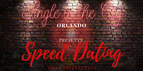Orlando Speed Dating - Presented by Single In The City Orlando tickets