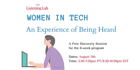 Women in Tech - A Free Discovery Session tickets