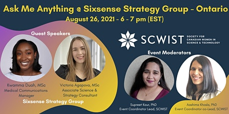 Ask Me Anything @Sixsense Strategy Group - Ontario tickets