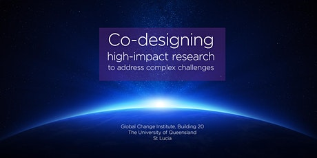 Co-designing high-impact research to address complex challenges tickets