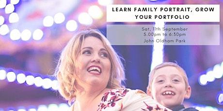 Learn Family Portraits, Grow your Portfolio tickets