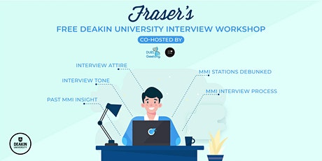 Free Deakin University Interview Workshop | Online tickets