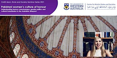Pakistani women's culture of honour and Australian diaspora tickets
