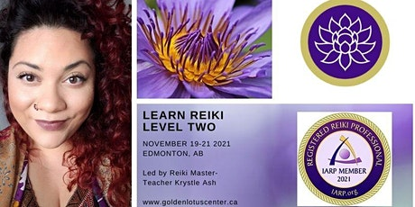 Reiki Level Two Certification Class - November tickets